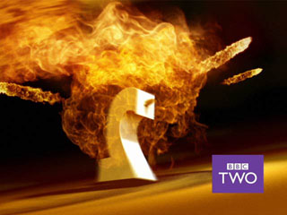 Fire. The best BBC TWO ident of the current set by a fucking country mile.